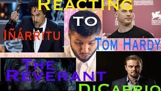 film trailer reaction the revenant leonardo dicaprio   tom hardy   irritu