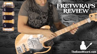 Gruv Gear FretWraps Demo and Review (The Bass Wizard)