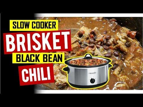 Black Bean Brisket Chili Recipe Slow Cooker