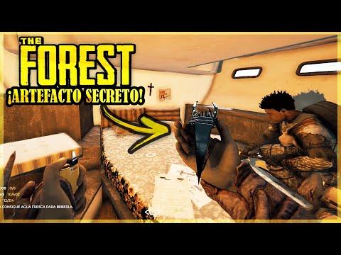 ENCONTRAMOS EL ARTEFACTO SECRETO - THE FOREST