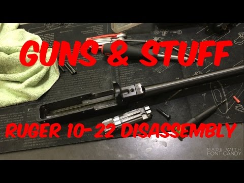 Ruger 10-22 Disassembly & Assembly