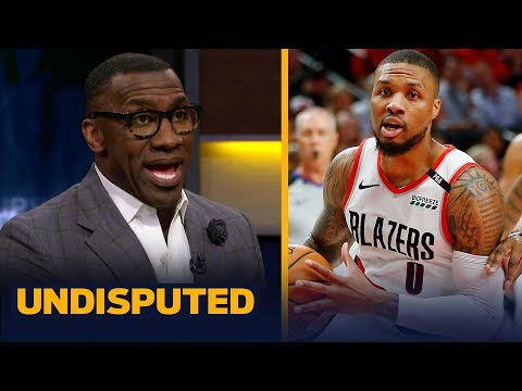 Shannon Sharpe weighs in on Damian Lillard's diss track on Shaq | NBA | UNDISPUTED