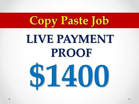 #copy paste jobs without investment 🔥 LIVE PAYMENT  PROOF $1400 🔥🔥
