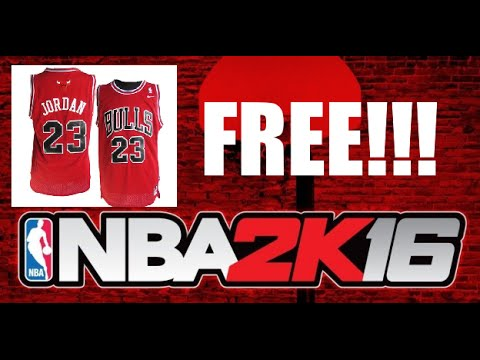 Working ? ) NBA 2K16 - FREE MICHAEL JORDAN JERSEY GLITCH - YouTube