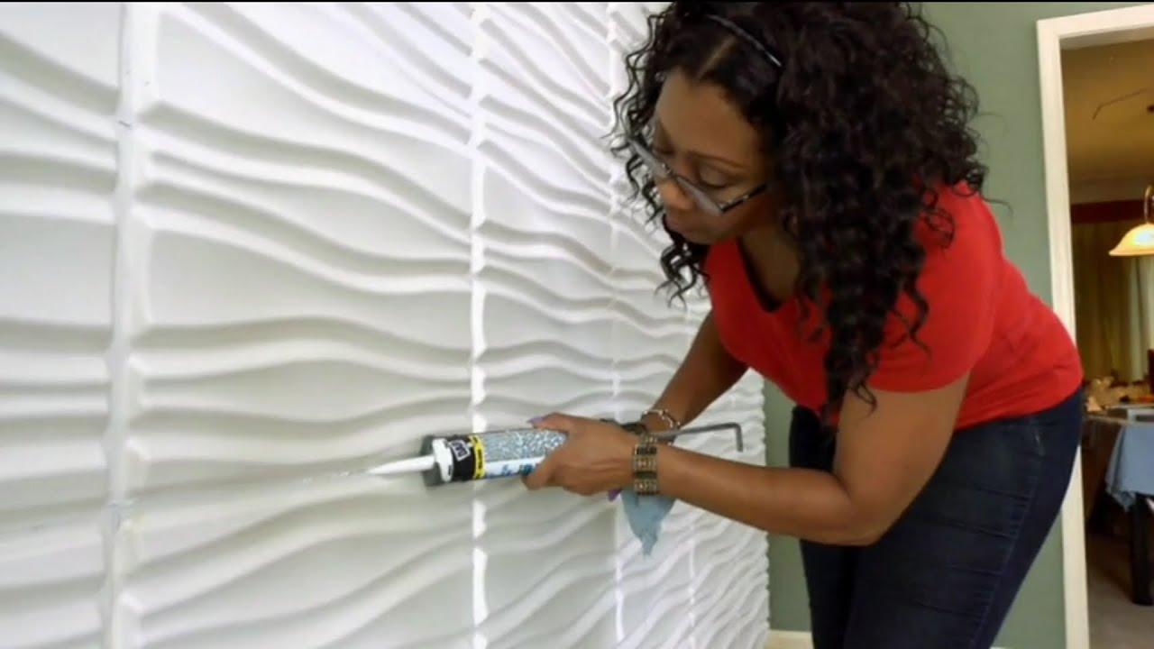 "Decorative Wall Panels By WallArt As Seen On DIY ""I Want"