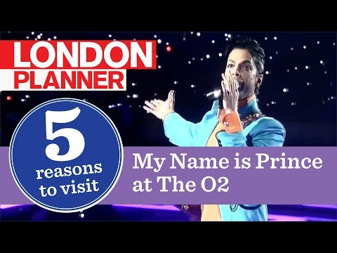5 Reasons to Visit My Name is Prince at The O2