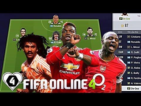 Khoảnh Khắc BÁ ĐẠO Của BỘ BA R. Gullit NHD - P. Vieira NHD - P. Pogba NHD Trong FO4 | FIFA ONLINE 4