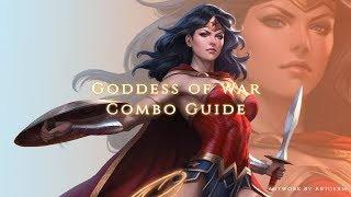 Injustice 2 - Goddess of War - Wonder Woman Combo Guide