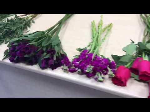 Создаем букет цветов № 144 . Мастер-класс 144 ч1