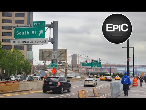 New York City from the Bus: Midtown, Upper West Side, El Barrio & Bronx (HD)