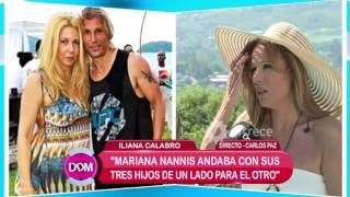 Iliana Calabró habló de la relación de Charlotte Caniggia y Loan