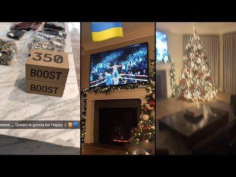 Rob Kardashian | Snapchat Videos | December 9th 2017