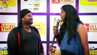 MIRCHI MUSIC AWARDS SOUTH 2014 – SELVA GANESH ON THE RED CARPET OF MIRCHI MUSIC AWARDS 2014 Vijay tv 06-09-2015