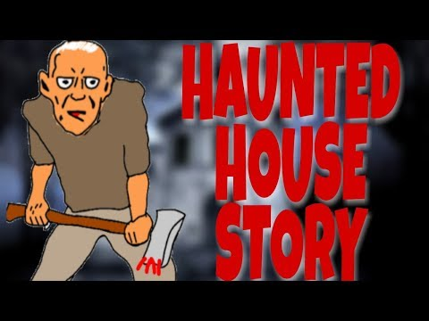 SCARY STORY     HAUNTED HOUSE  [ANIMATED IN HINDI]