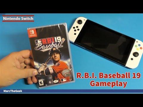 R.B.I. Baseball 19 Gameplay