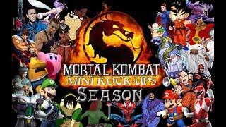 Mortal Kombat Mini Kock-Ups Season #1