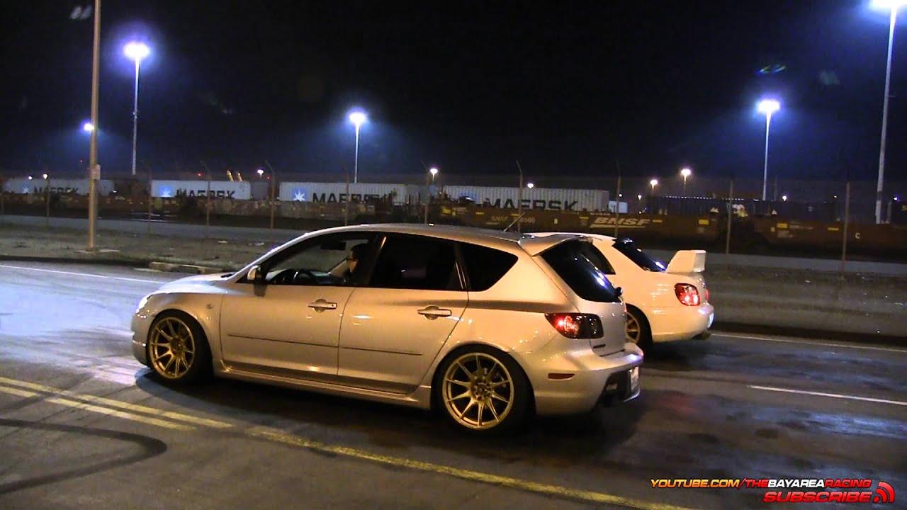 STi vs Mazdaspeed3