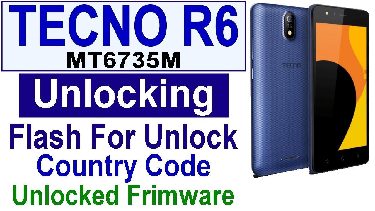 Smartphone Tecno R6