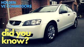 Holden VE Commodore - 2 Cool Things You Probably Never Knew