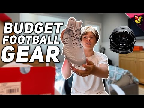 Best Budget Football Gear in 2020 || I'll Show You How To Save Some Money