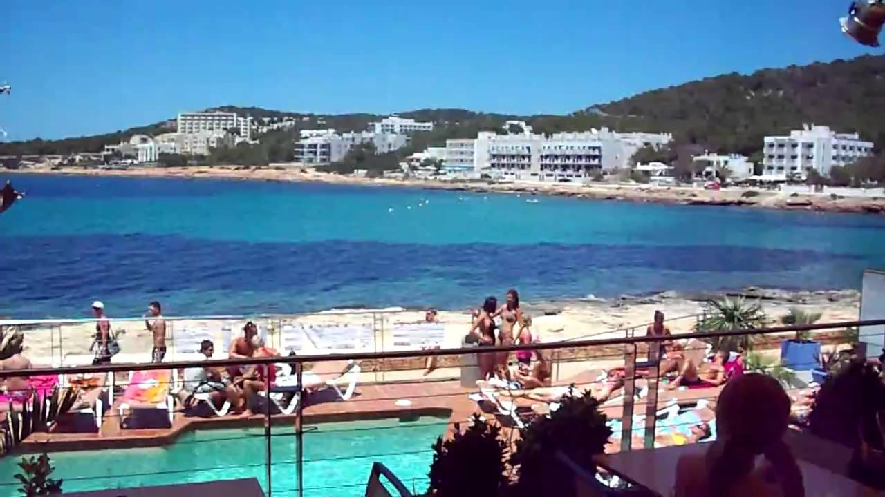 Dj Mooresy On The Decks At Kanya Beach Bar Ibiza