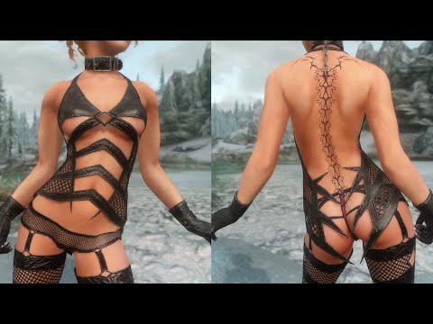 Skyrim Mod Review 33 - Hentai Faces, Furry Slaves, Merta Assassin - Series: Boobs And Lubes