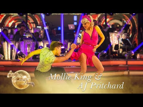 Mollie King and AJ Pritchard Jive to 'Good Golly Miss Molly' by Little Richard