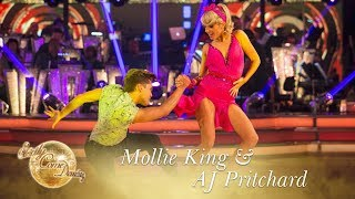 Mollie King and AJ Pritchard Jive to 'Good Golly Miss Molly' - Strictly Come Dancing 2017