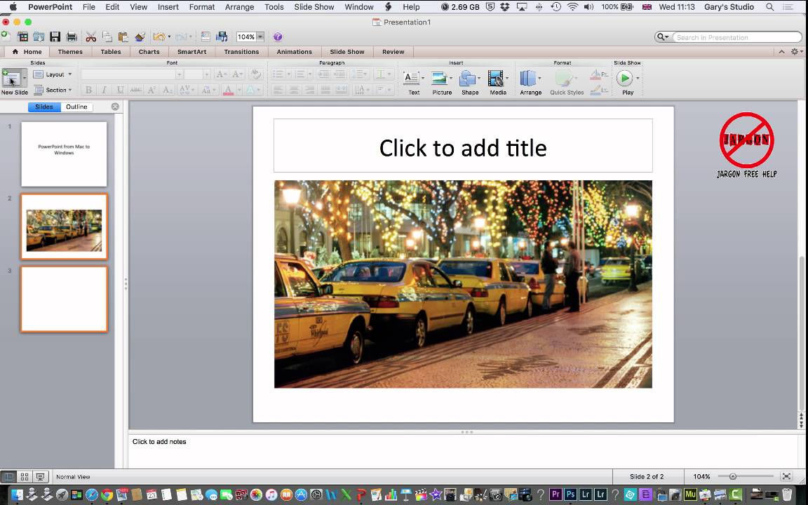 Using Your Mac PowerPoint Presentation on a Windows PC