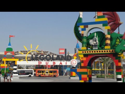 Legoland Dubai Complete Park Tour, Dubai Parks & Resorts 2017 United Arab Emirates