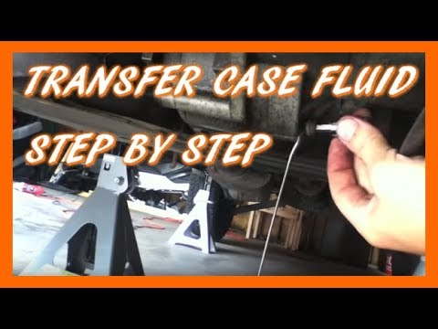 How To Change Transfer Case Fluid (Ford Escape)