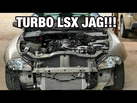 SLEEPER TURBO LSX JAGUAR First Drive and THIS HAPPENS
