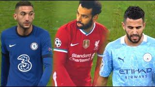 Mohamed Salah Vs. Hakim Ziyech Vs. Riyad Mahrez (2021)   Goals & Passes, Dribbles