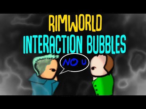 Interaction Bubbles! Rimworld Mod Showcase - YouTube