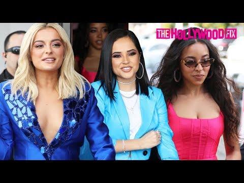 Bebe Rexha, Becky G, Tinashe & 5th Harmony Greet Fans At The Women In Harmony Brunch 1.24.20