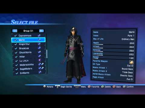 Dynasty Warriors 8 Empires Funny and Cool Creations