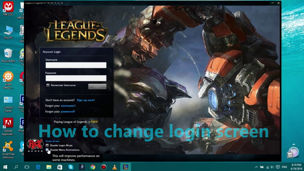 How to download and install league of legends { tutorial-100.