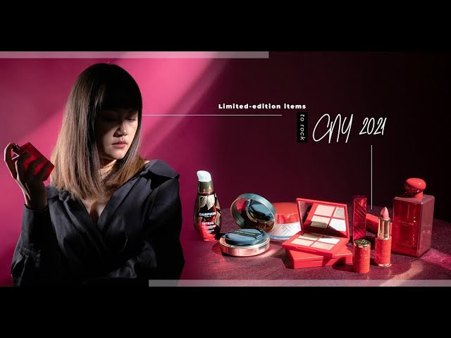 Limited edition items for CNY 2021:讓緋紅與流金,交織新春的喜慶