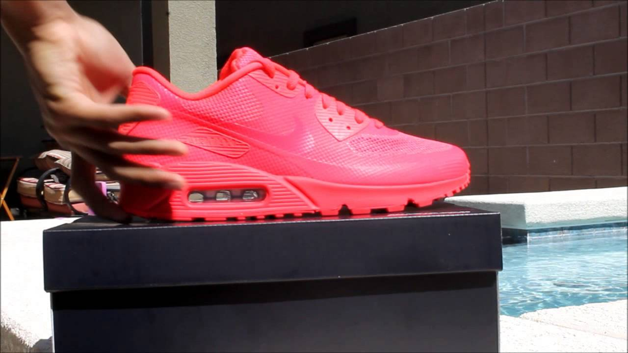 nike air max 90 hyperfuse solar red id sdsu
