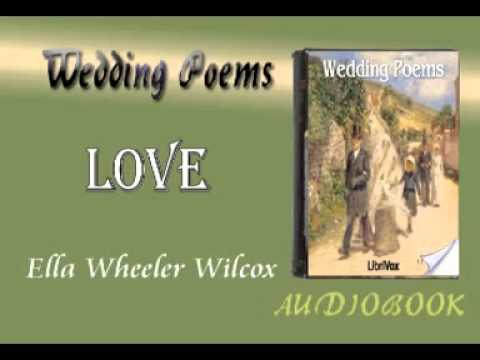 Love Ella Wheeler Wilcox Audiobook Wedding Poems