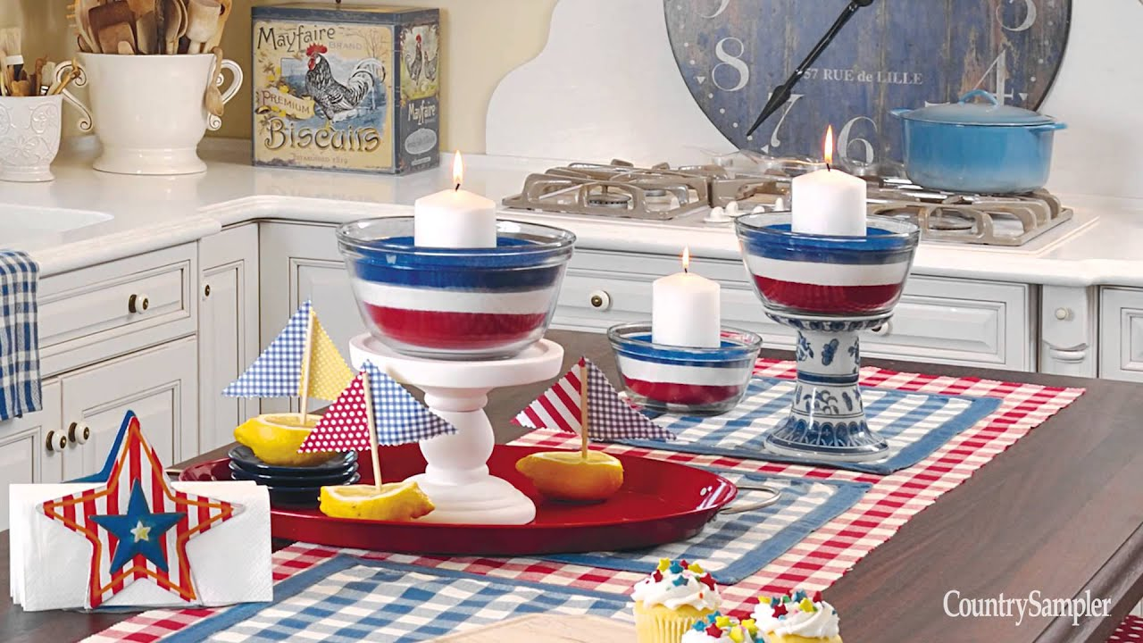 home decor that packs a patriotic punch - youtube