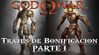 God of War || Trajes de bonificación de la saga griega (PARTE I)