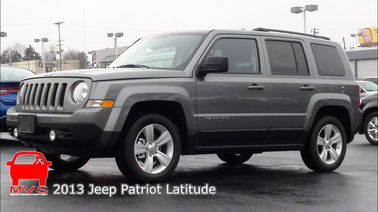 Perfect MVS   2013 Jeep Patriot Latitude   YouTube
