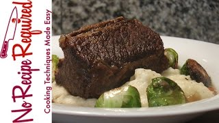 Guinness (Beer) Braised Short Ribs - NoRecipeRequired.com