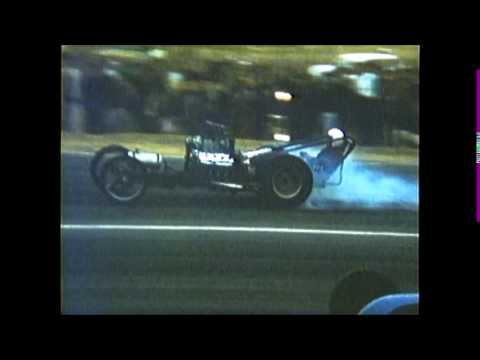 1959 RIVERSIDE RACEWAY colburn glaze all out smoking run vs cyr