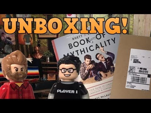Unboxing Rhett & Link's Book(let) of Mythicality!