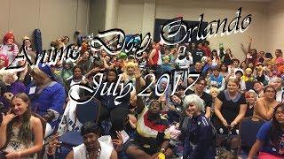 Anime Day Orlando July 2017 | Orlando, FL [VLOG]