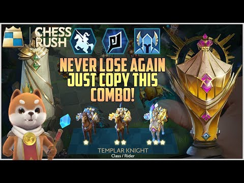 CHESS RUSH | BEST COMBO TO RANK UP IN ALL MODES | RIDERS ARE SO BROKEN IN THIS!