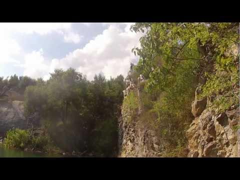 Cliff Jumping in Fishersville VA