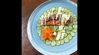 價差一倍 鮭魚切片清修成鮭魚排 省很大!